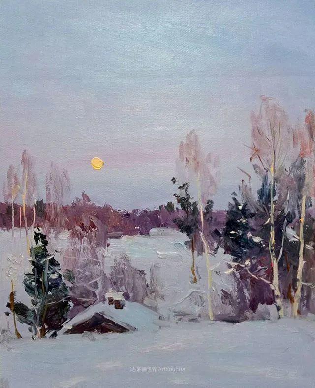 如此清新秀丽的油画风景,简简单单的美!插图87