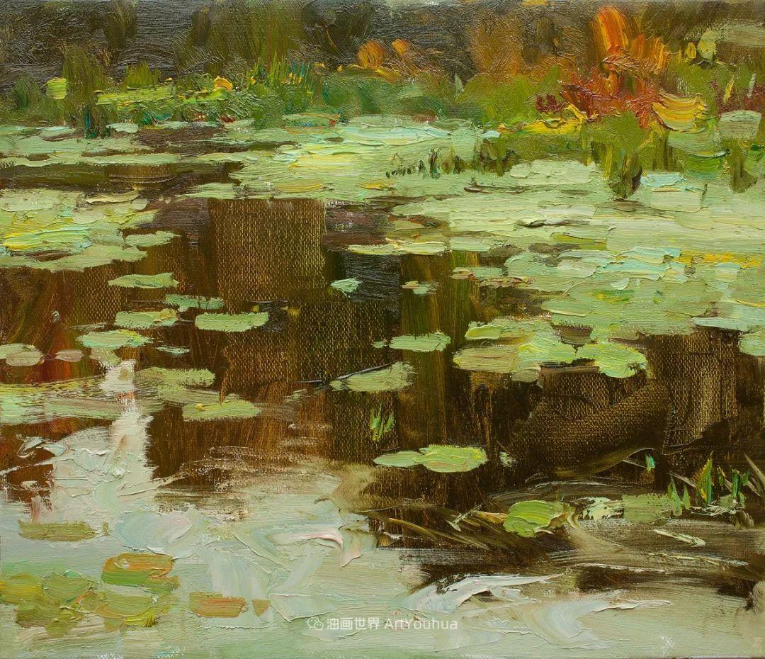 如此清新秀丽的油画风景,简简单单的美!插图99