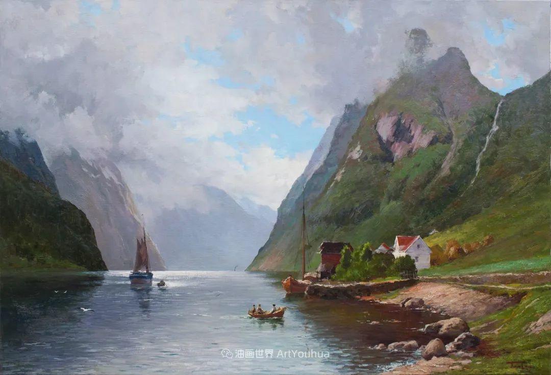 如此清新秀丽的油画风景,简简单单的美!插图111