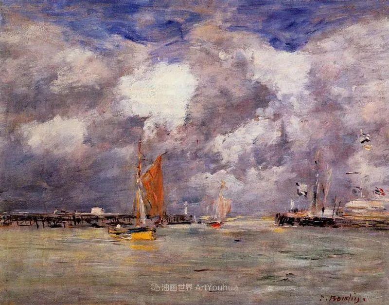 莫奈的启蒙恩师,法国最早印象派画家欧仁·布丹插图7