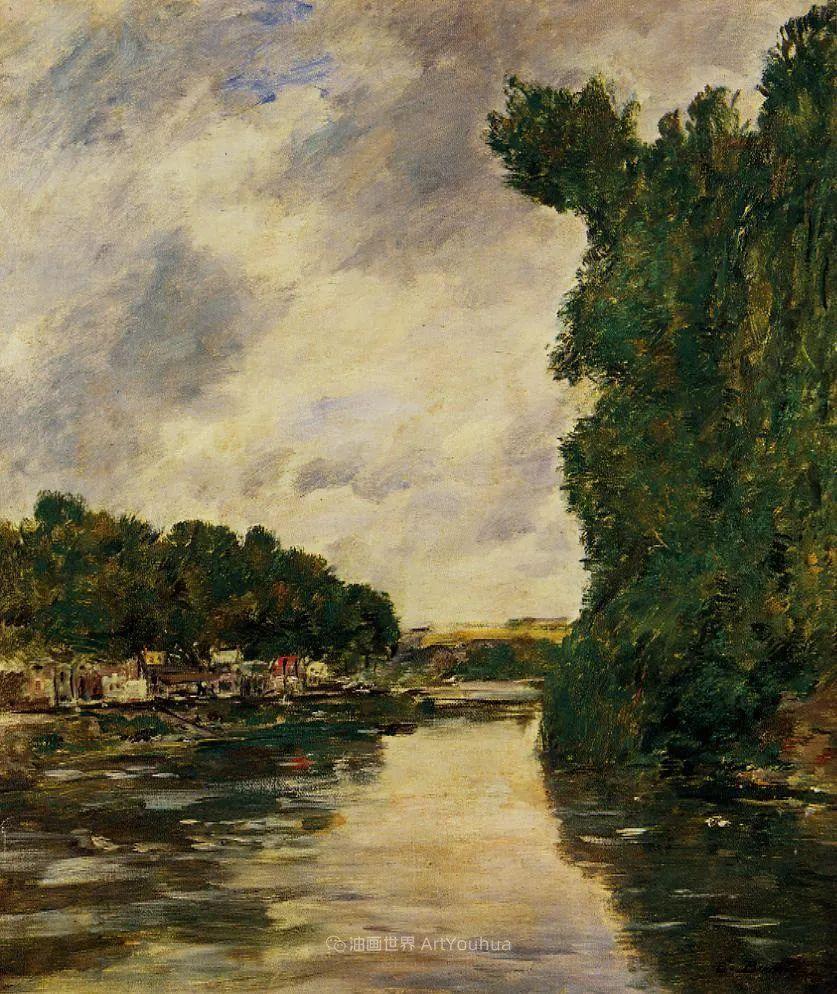 莫奈的启蒙恩师,法国最早印象派画家欧仁·布丹插图11