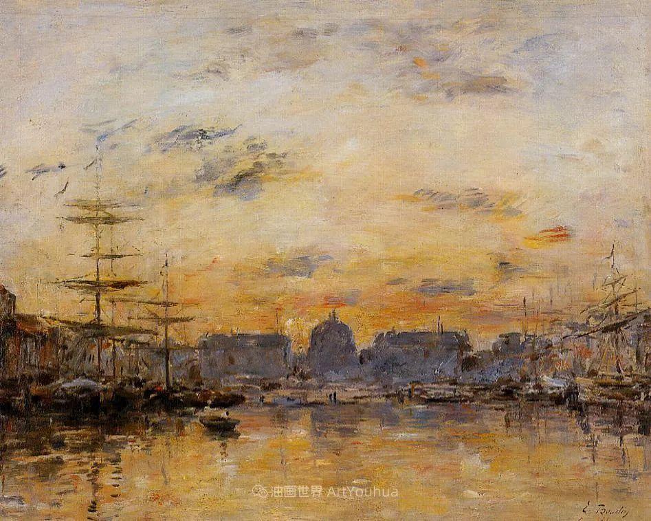 莫奈的启蒙恩师,法国最早印象派画家欧仁·布丹插图19