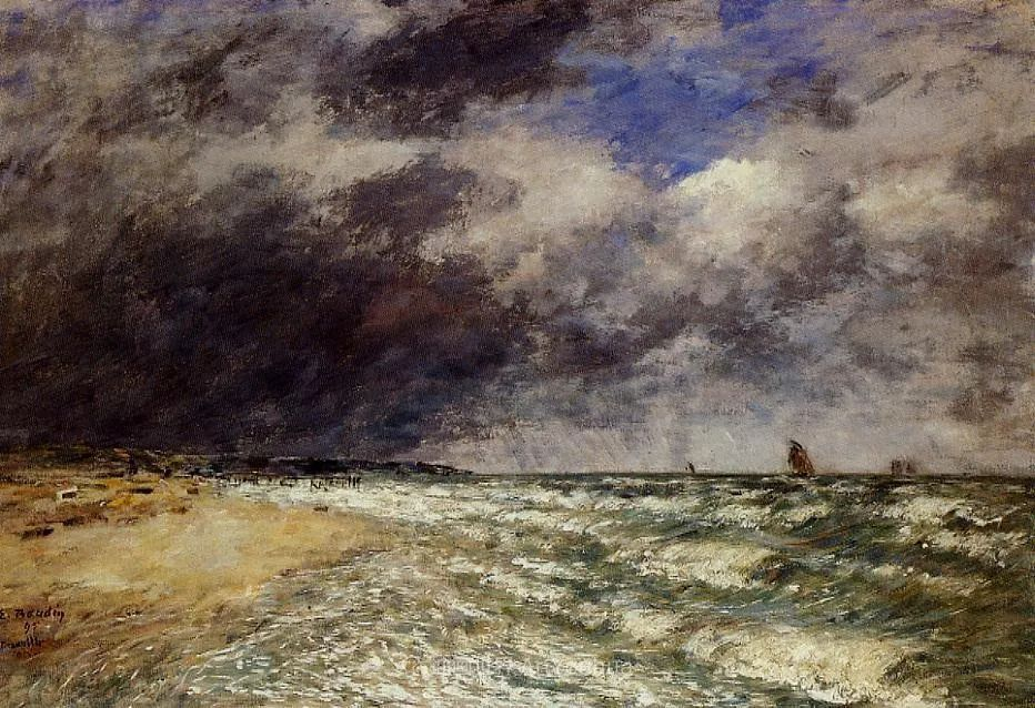 莫奈的启蒙恩师,法国最早印象派画家欧仁·布丹插图21