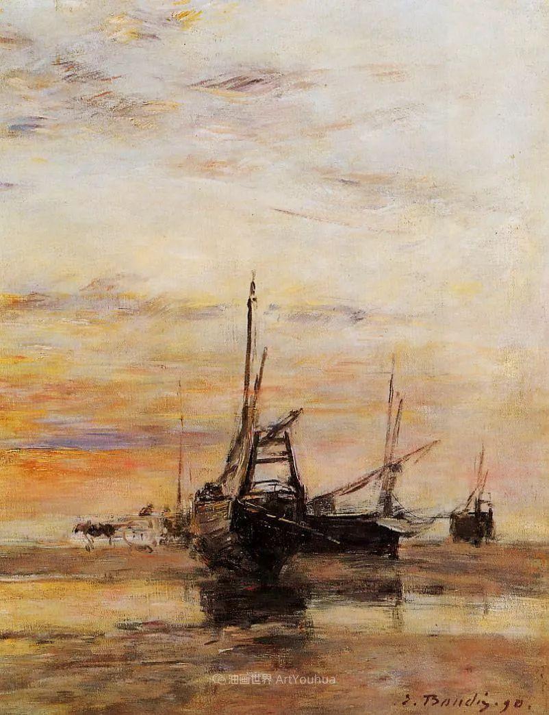 莫奈的启蒙恩师,法国最早印象派画家欧仁·布丹插图33