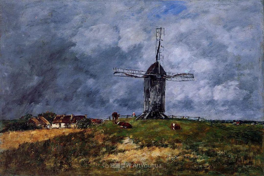 莫奈的启蒙恩师,法国最早印象派画家欧仁·布丹插图39