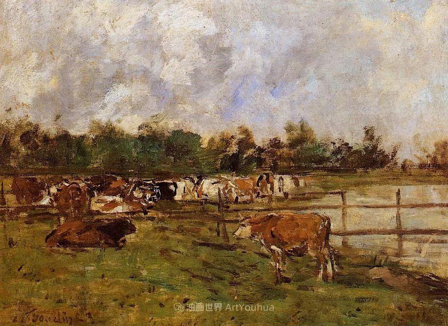 莫奈的启蒙恩师,法国最早印象派画家欧仁·布丹插图41