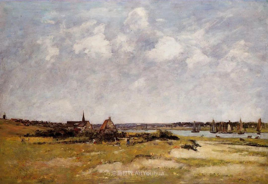 莫奈的启蒙恩师,法国最早印象派画家欧仁·布丹插图43