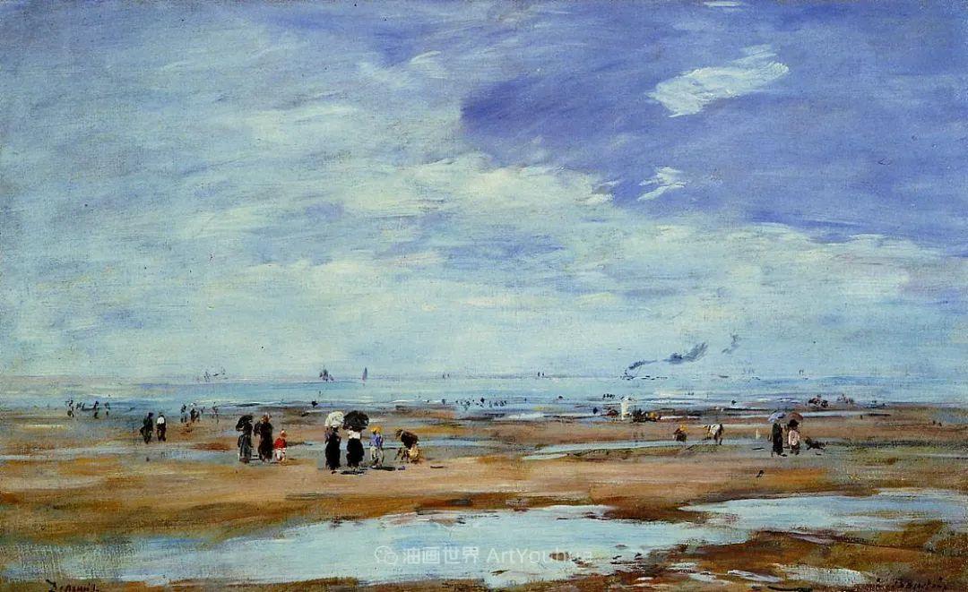 莫奈的启蒙恩师,法国最早印象派画家欧仁·布丹插图49