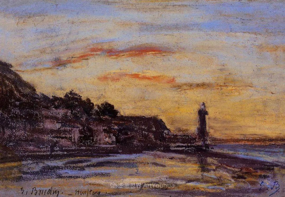 莫奈的启蒙恩师,法国最早印象派画家欧仁·布丹插图61