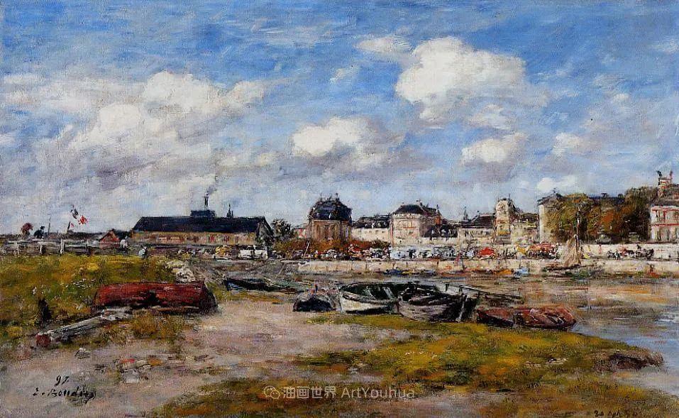 莫奈的启蒙恩师,法国最早印象派画家欧仁·布丹插图67