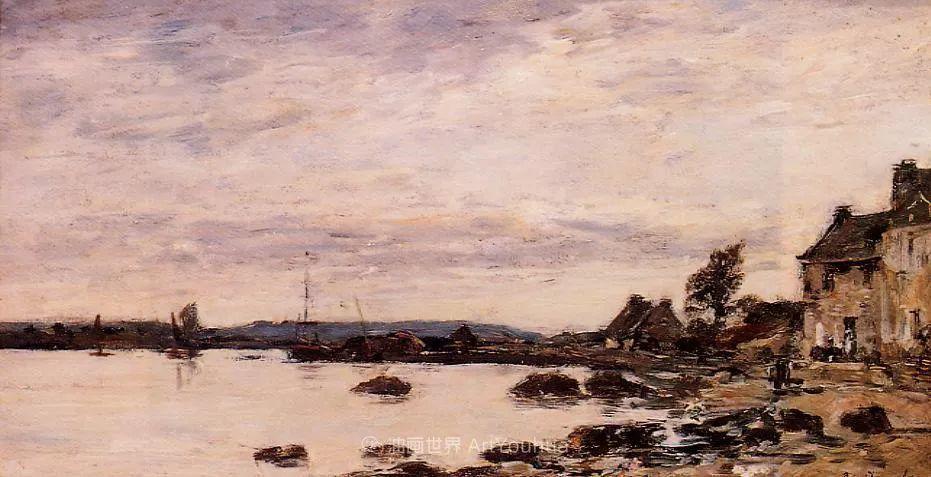 莫奈的启蒙恩师,法国最早印象派画家欧仁·布丹插图74