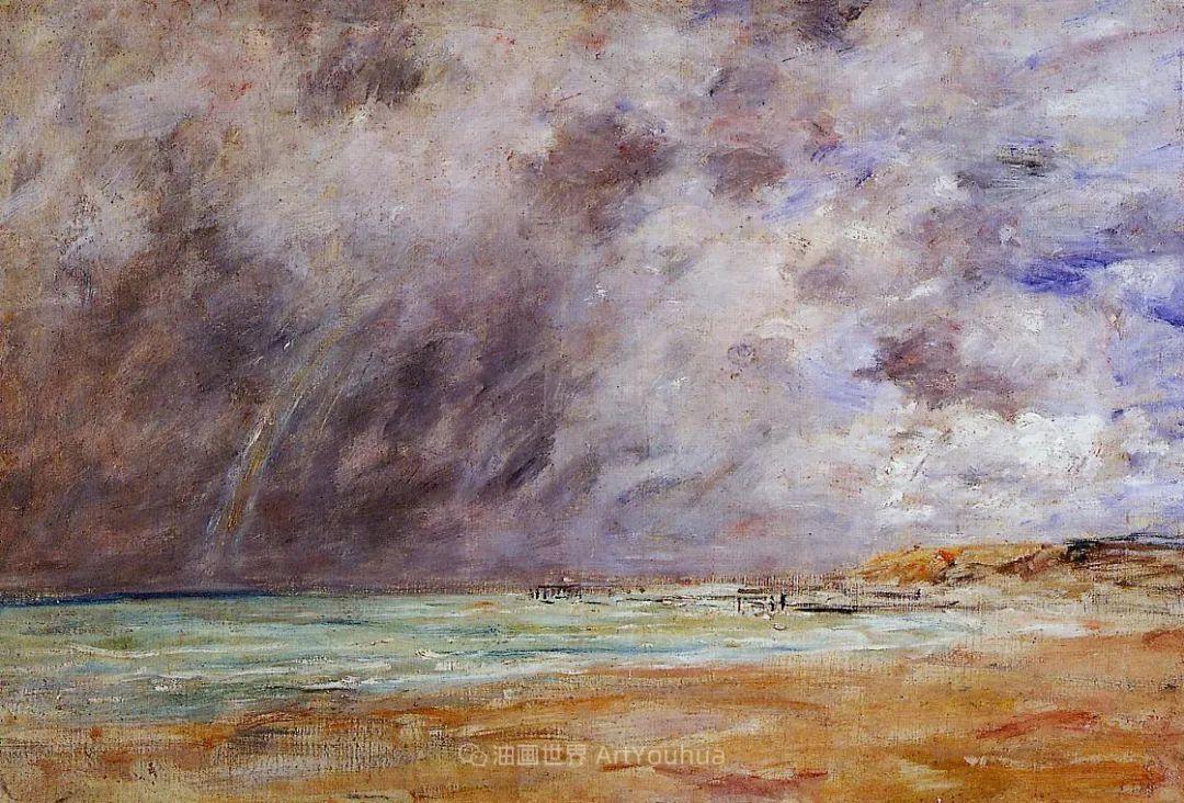 莫奈的启蒙恩师,法国最早印象派画家欧仁·布丹插图82