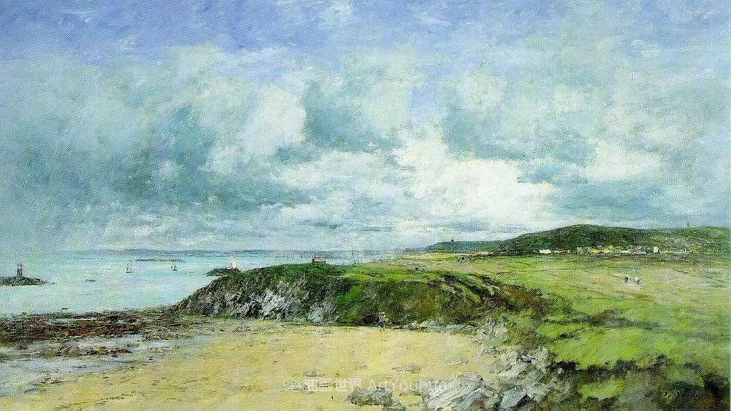 莫奈的启蒙恩师,法国最早印象派画家欧仁·布丹插图86