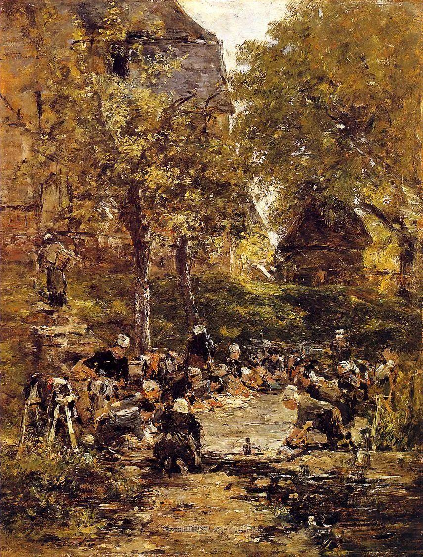 莫奈的启蒙恩师,法国最早印象派画家欧仁·布丹插图90