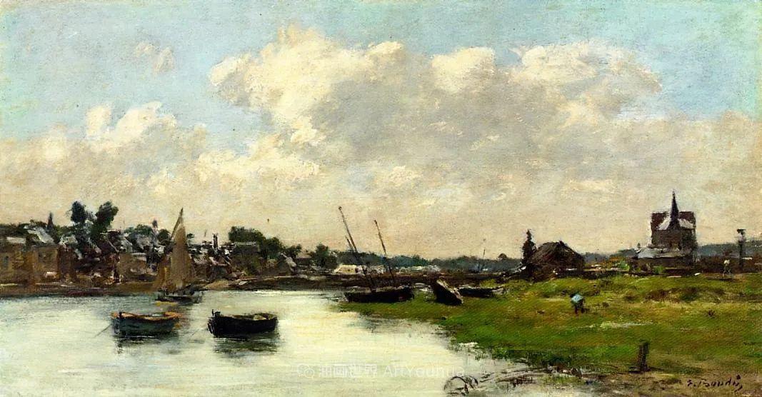 莫奈的启蒙恩师,法国最早印象派画家欧仁·布丹插图92