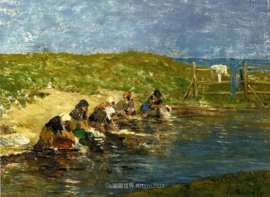 莫奈的启蒙恩师,法国最早印象派画家欧仁·布丹插图100