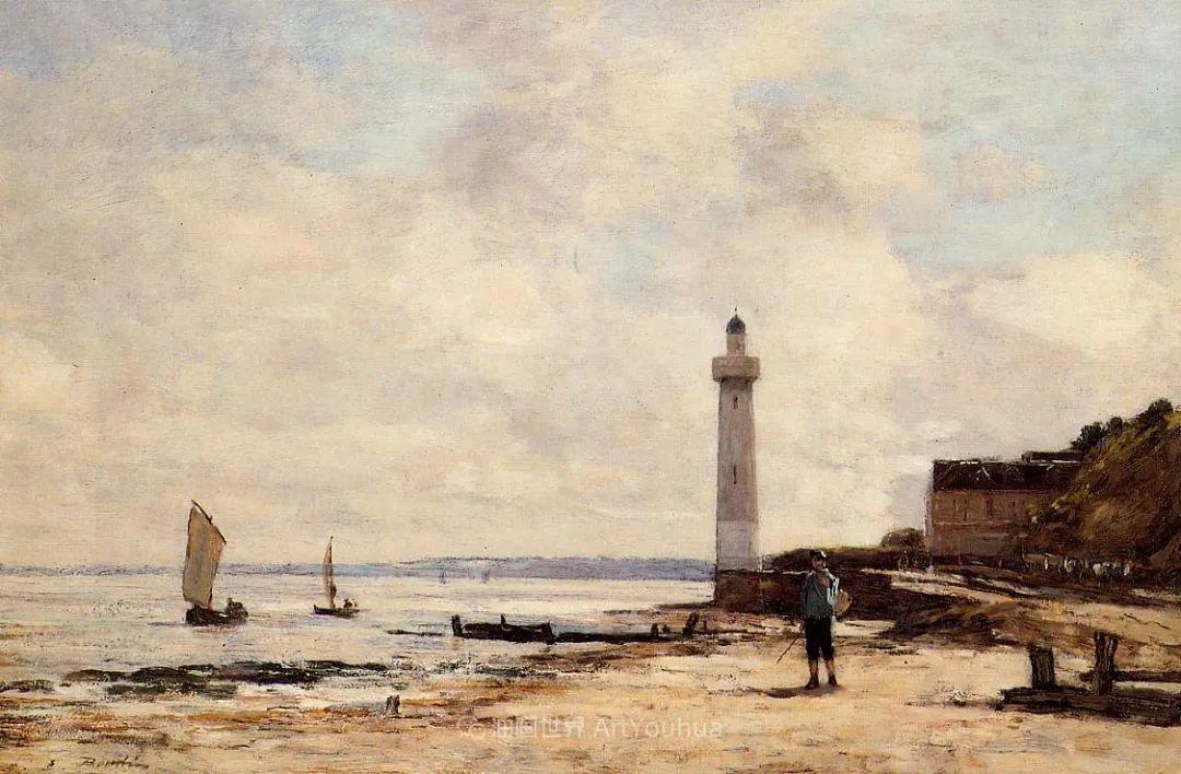 莫奈的启蒙恩师,法国最早印象派画家欧仁·布丹插图108