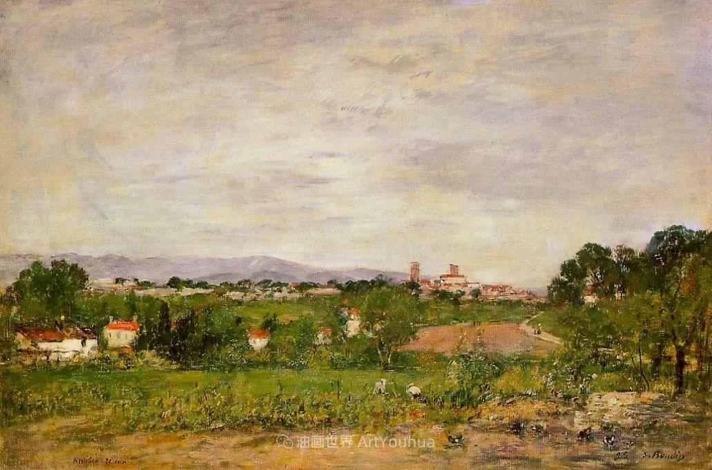 莫奈的启蒙恩师,法国最早印象派画家欧仁·布丹插图110