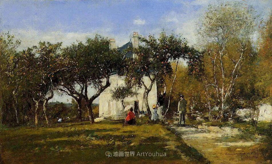 莫奈的启蒙恩师,法国最早印象派画家欧仁·布丹插图114