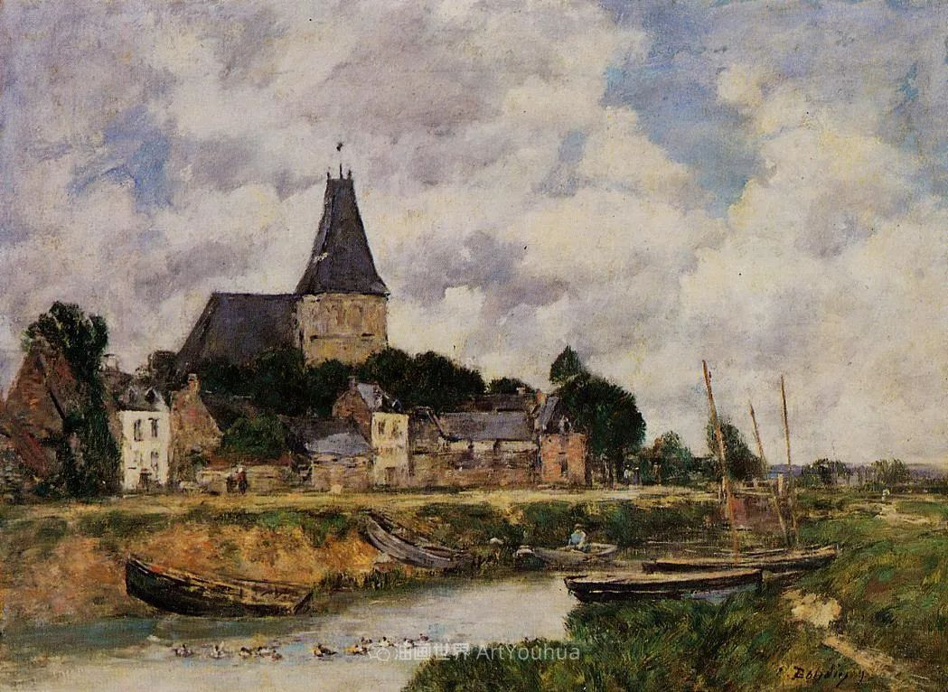 莫奈的启蒙恩师,法国最早印象派画家欧仁·布丹插图116