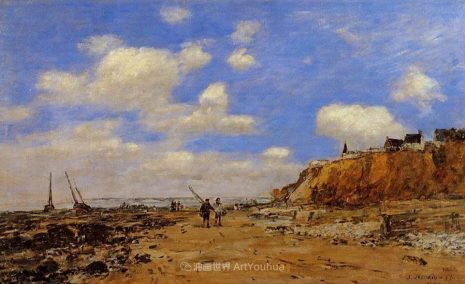 莫奈的启蒙恩师,法国最早印象派画家欧仁·布丹插图120