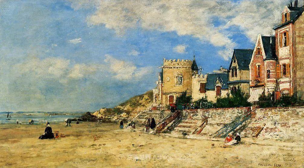 莫奈的启蒙恩师,法国最早印象派画家欧仁·布丹插图122