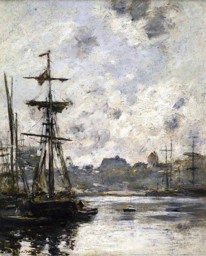 莫奈的启蒙恩师,法国最早印象派画家欧仁·布丹插图126