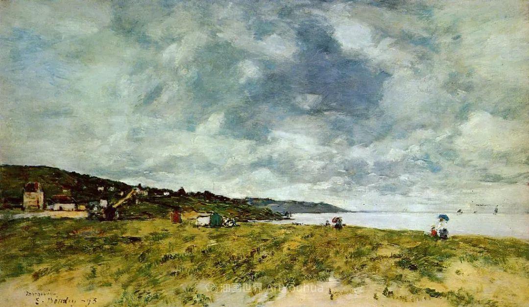 莫奈的启蒙恩师,法国最早印象派画家欧仁·布丹插图132