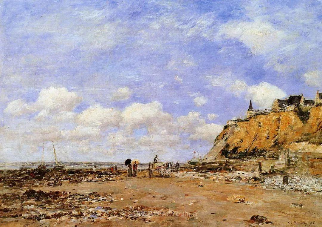 莫奈的启蒙恩师,法国最早印象派画家欧仁·布丹插图136