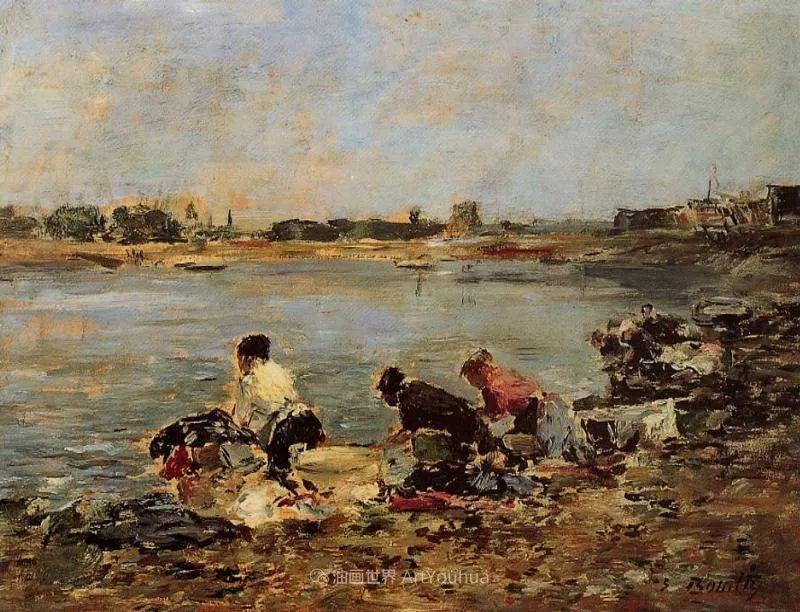 莫奈的启蒙恩师,法国最早印象派画家欧仁·布丹插图156