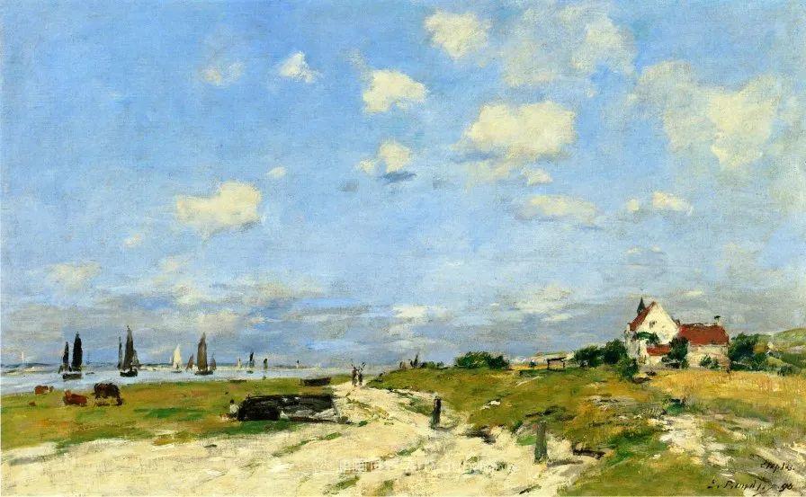 莫奈的启蒙恩师,法国最早印象派画家欧仁·布丹插图168