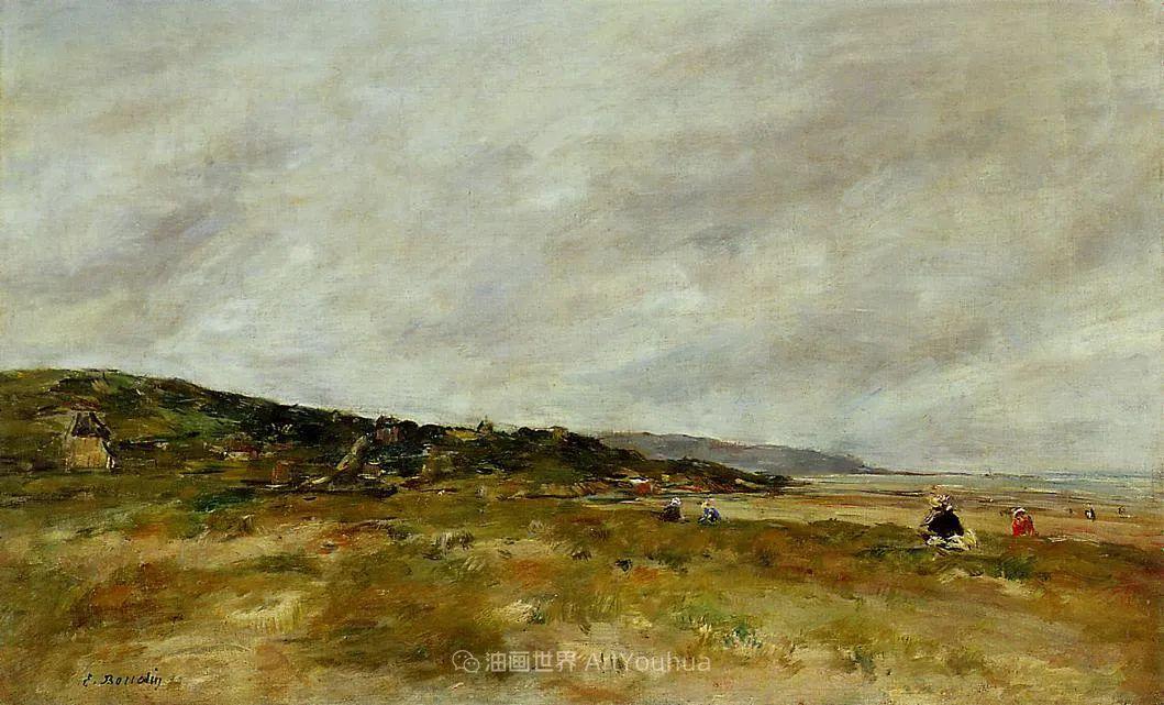 莫奈的启蒙恩师,法国最早印象派画家欧仁·布丹插图176
