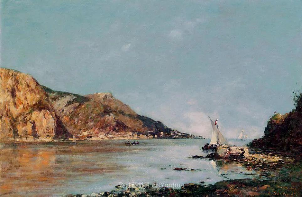 莫奈的启蒙恩师,法国最早印象派画家欧仁·布丹插图180