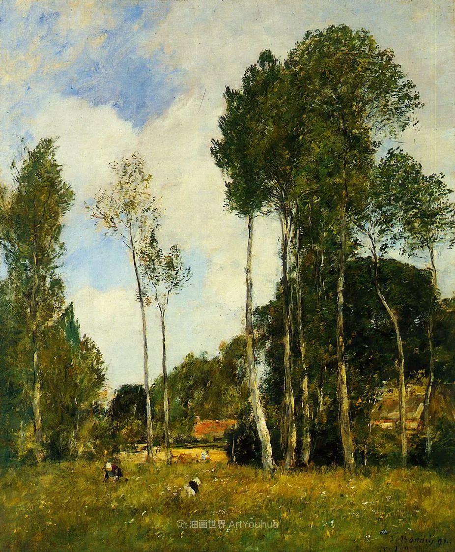 莫奈的启蒙恩师,法国最早印象派画家欧仁·布丹插图182