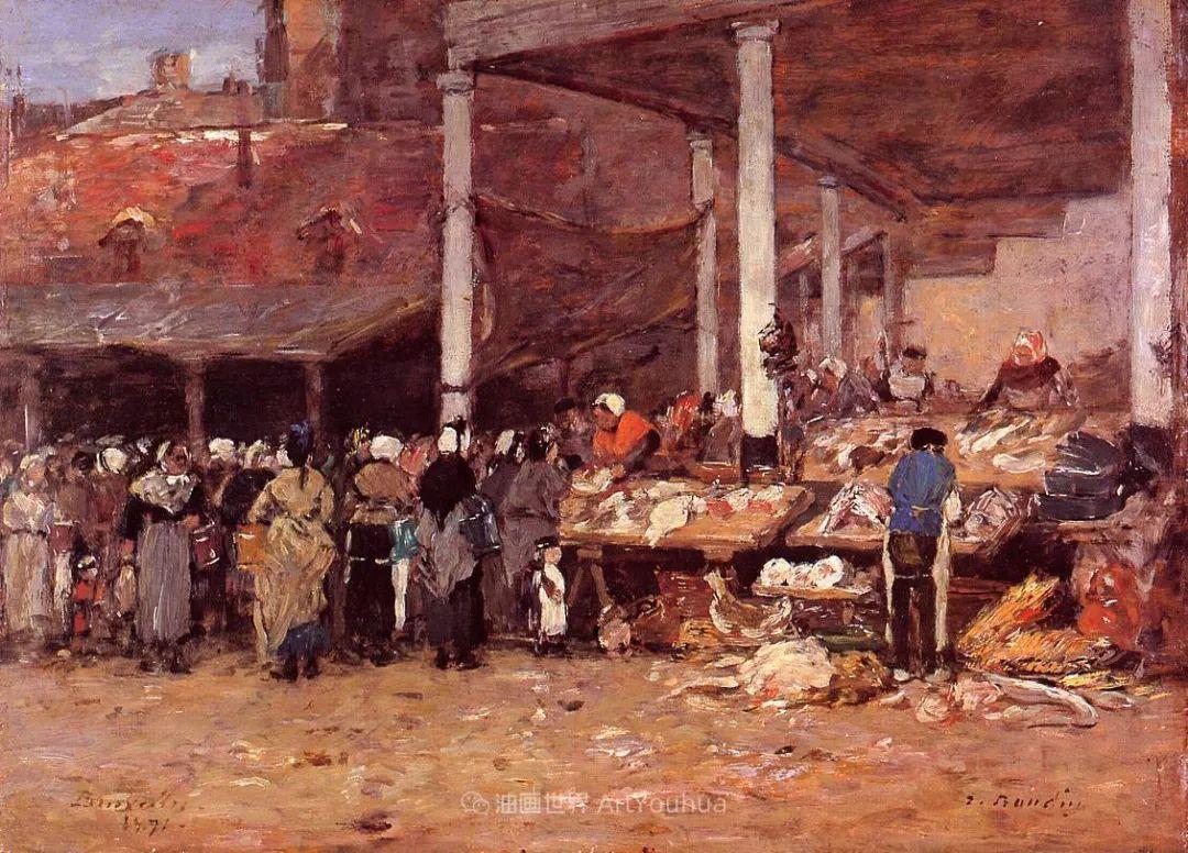 莫奈的启蒙恩师,法国最早印象派画家欧仁·布丹插图184