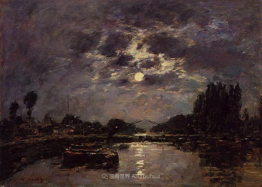 莫奈的启蒙恩师,法国最早印象派画家欧仁·布丹插图190