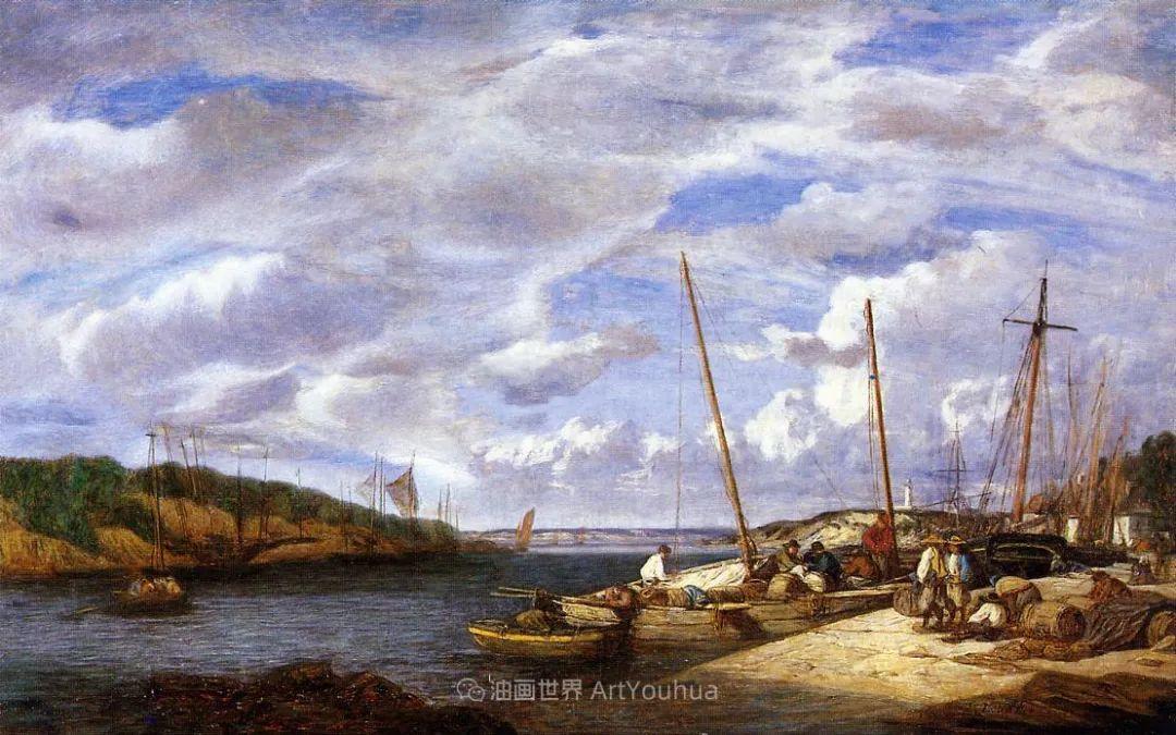莫奈的启蒙恩师,法国最早印象派画家欧仁·布丹插图202