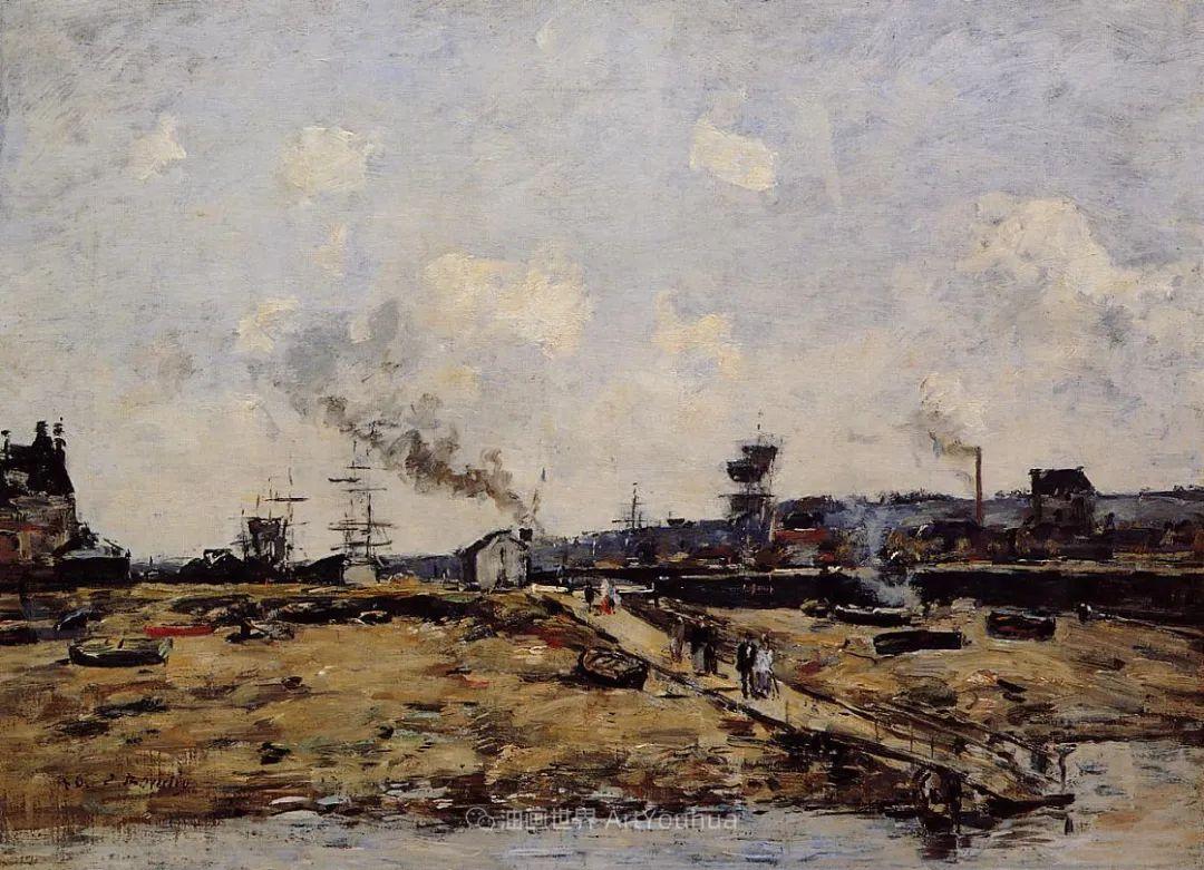 莫奈的启蒙恩师,法国最早印象派画家欧仁·布丹插图204