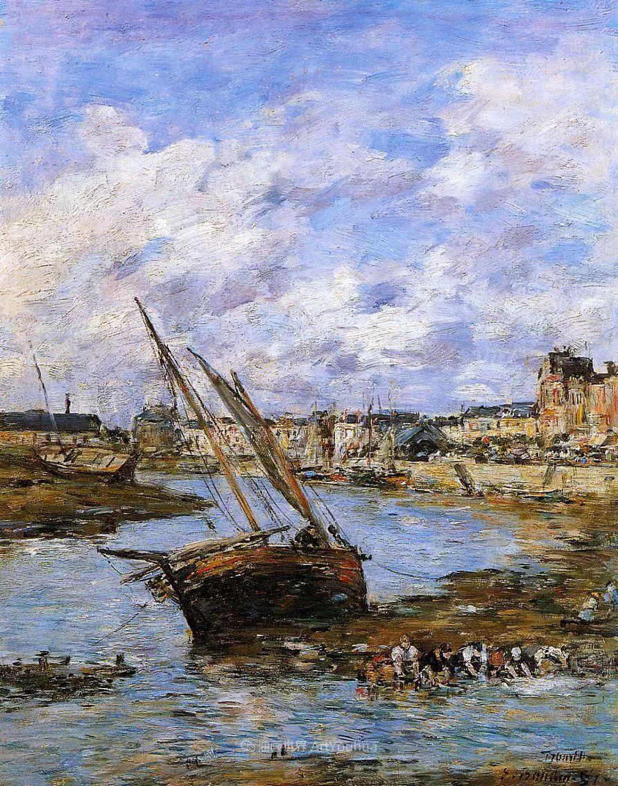 莫奈的启蒙恩师,法国最早印象派画家欧仁·布丹插图220