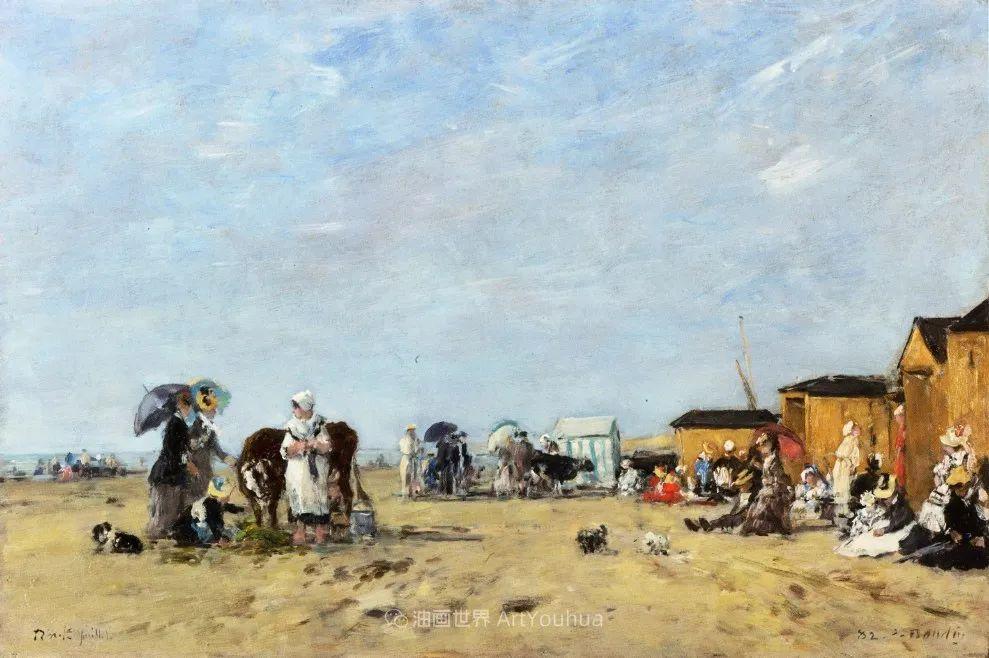 莫奈的启蒙恩师,法国最早印象派画家欧仁·布丹插图224