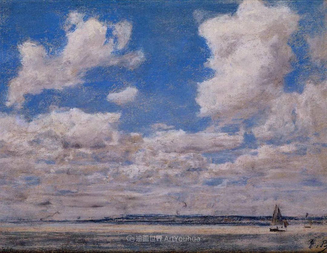 莫奈的启蒙恩师,法国最早印象派画家欧仁·布丹插图230