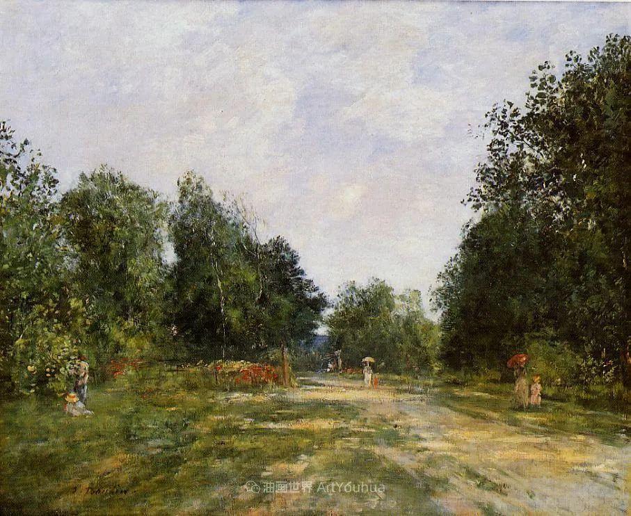 莫奈的启蒙恩师,法国最早印象派画家欧仁·布丹插图238