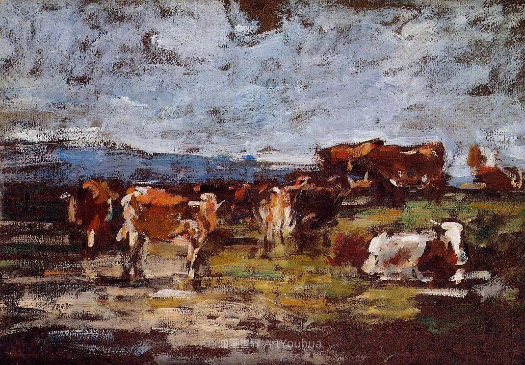 莫奈的启蒙恩师,法国最早印象派画家欧仁·布丹插图240