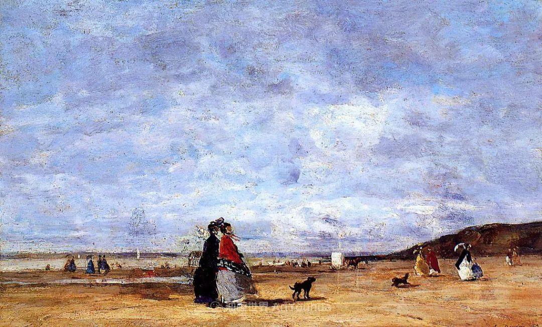 莫奈的启蒙恩师,法国最早印象派画家欧仁·布丹插图242