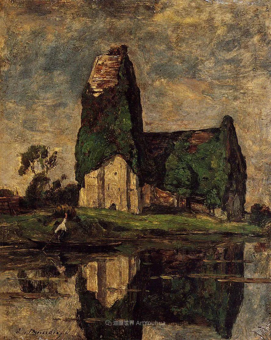 莫奈的启蒙恩师,法国最早印象派画家欧仁·布丹插图244