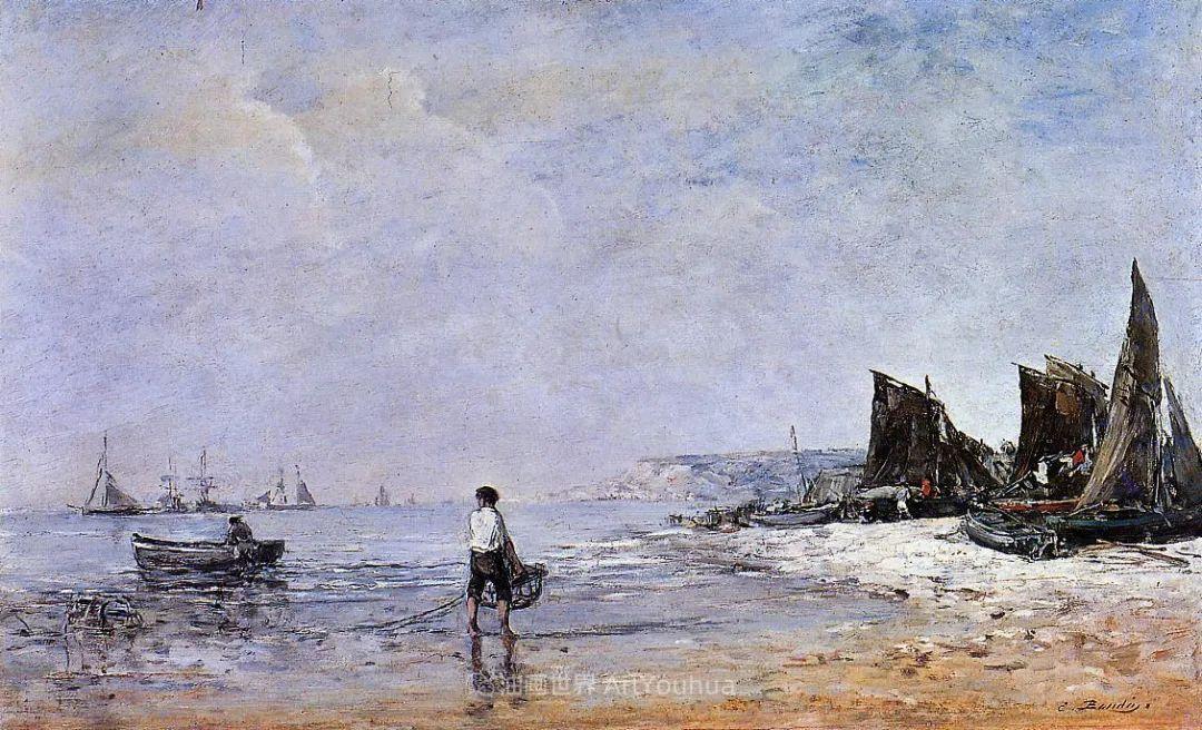 莫奈的启蒙恩师,法国最早印象派画家欧仁·布丹插图256