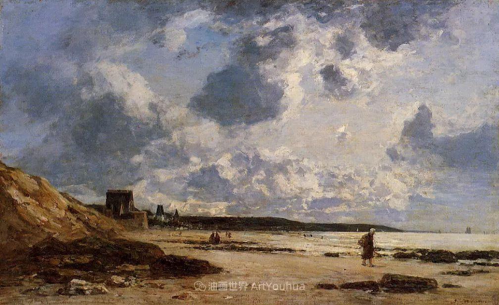 莫奈的启蒙恩师,法国最早印象派画家欧仁·布丹插图260