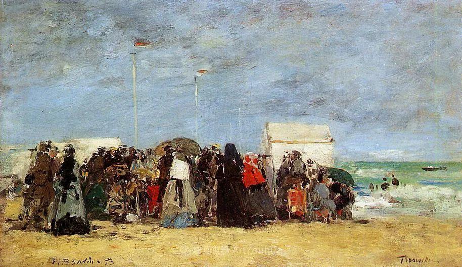 莫奈的启蒙恩师,法国最早印象派画家欧仁·布丹插图264