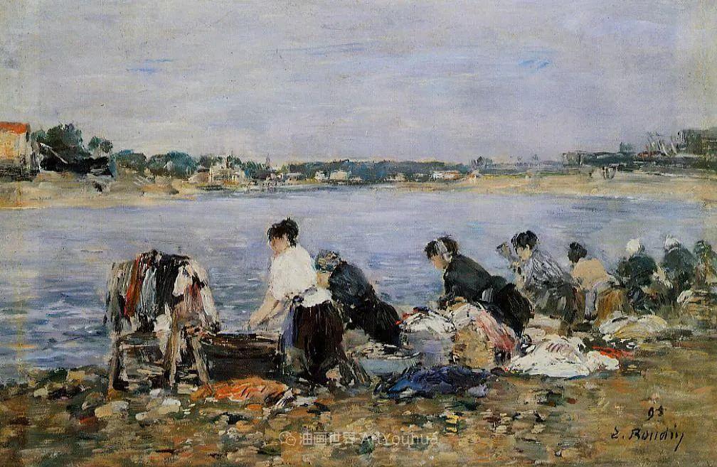 莫奈的启蒙恩师,法国最早印象派画家欧仁·布丹插图270