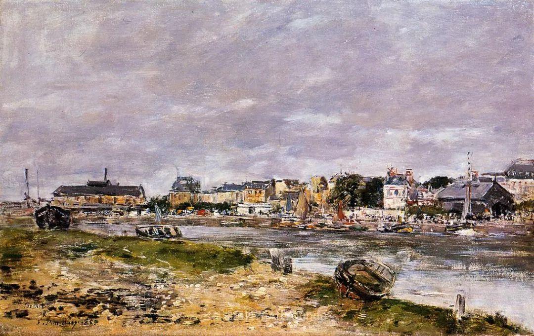 莫奈的启蒙恩师,法国最早印象派画家欧仁·布丹插图272